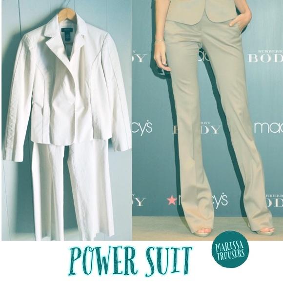 Victoria's Secret Jackets & Blazers - Body By Victoria • Khaki 2Pc Suit Marissa Fit 6/8
